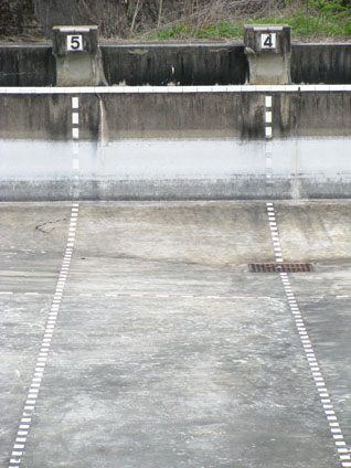 Empty Swimming Pool in Takebe