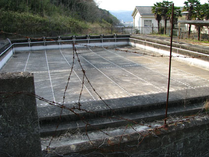 Derelict Swimming Pool in Takebe