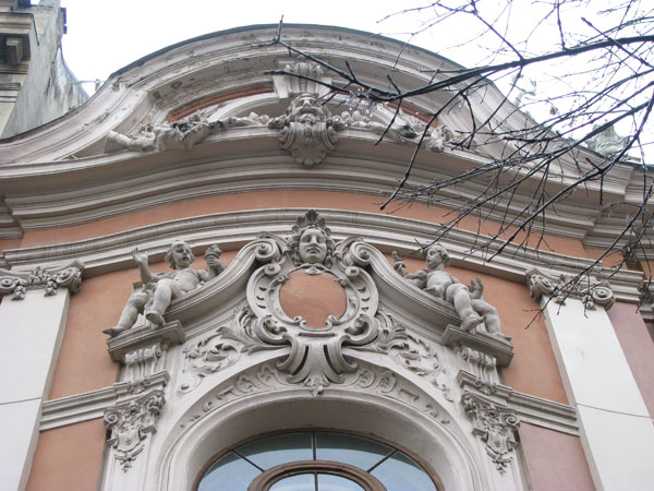 Architectural Details in Lviv, Ukraine
